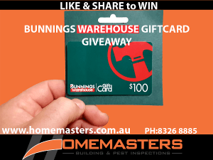 Enter Our BUNNINGS GIFTCARD GIVE AWAY